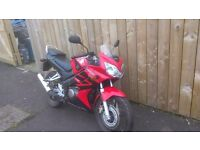2006 Honda 125 cbr with only 217 genuine miles