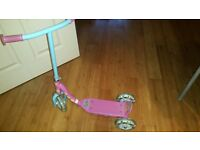 Baby Scooter pink colured
