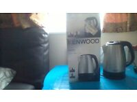 Excellent working order Kenwood stainless steel kettle with box.