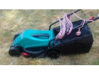 Electric lawnmower for medium size garden (very good condition)