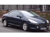 2008 Peugeot 307CC 2.0 S 2 Door Convertible, Full Service History, Low Miles, Long MOT!