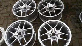 17 inch BRAND NEW ALLOYS. 5 STUD 5 × 100. BRAND NEW MEANS BRAND NEW NEVER BEEN USED