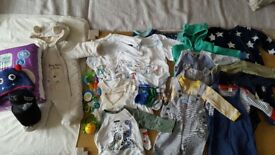 0-9 Months baby boy bundle of clothes