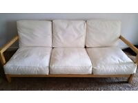 LUSH COMFY MODERN IKEA SOFA INCLUDES FREE DELIVERY.