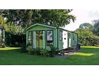 Static 6 berth Willerby Winchester Luxury Caravan 2008 (38ft x 12ft) Sited near Ludlow in Shropshire