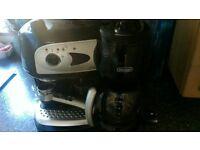 Delonghi filter coffee & espresso machine