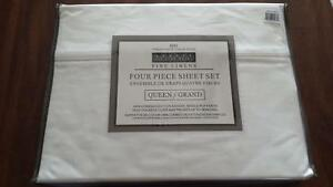 Queen Size 800 Thread Count Sheet Set - BNIP