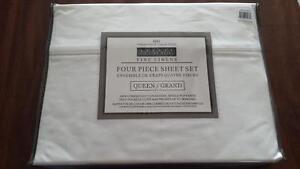 Queen Size 800 Thread Count Sheet Set - BNIP