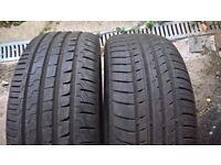 Tyres 225/45/17 x 2
