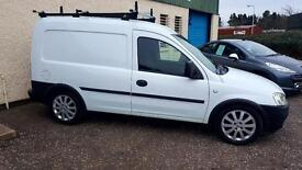 VAUXHALL COMBO 1700 CDTI A Very Nice Clean Van Ready For Work With Extras (white) 2008