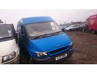 2001 FORD TRANSIT 260 SWB TD, 2LT DIESEL, BREAKING FOR PARTS ONLY, POSTAGE AVAILABLE NATIONWIDE