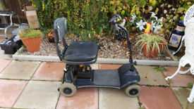NEW BATTERIES Lightweight Car Boot Mobility Scooter