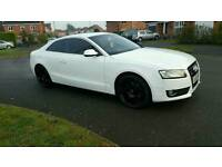 Audi A5 white Only Done 8,000 MILES