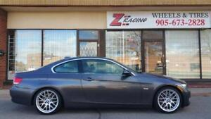 2011 BMW 3 Series Winter Tire Package Call 905 673 2828  @Zracing(4 Wheels +4 Tires) 17 Inch $1000 18 Inch $1100 4920