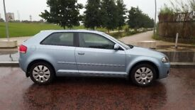 AUDI A3 SE 2007 ,1.6 PETROL ,3 DR ,GOOD CAR FOR FIRST DRIVERS