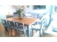 Stunning Farmhouse Dining Table
