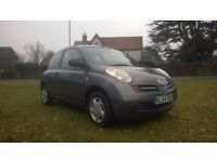 **12 MONTHS MOT** 2004 NISSAN MICRA 1.2 16V S 3 DOOR HATCHBACK **LOW MILEAGE+RECENT SERVICE**