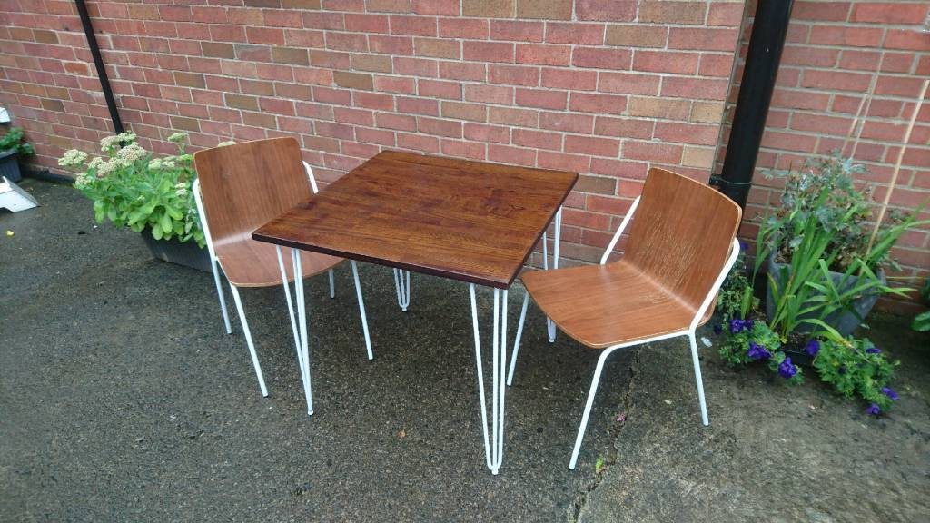 Solid Elm Wood Table And Chairs In Preston Lancashire Gumtree