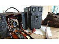 2 old cameras