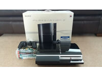 Playstation 3 80GB boxed with games
