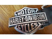 Harley davidson belt buckles
