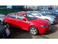2007 (07 reg) Audi A3 1.9 TDI Sport Sportback 5dr Hatchback £1,595 FOR SALE MOT TILL 04/03/2019