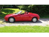 alfa romeo 2l convertible red on red very rare offers welcome