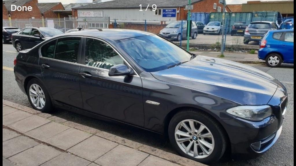 BMW f10 520d 5 series 2012 new shape not spares repair salvage need quick  sale cheap bargain | in Leicester, Leicestershire | Gumtree