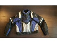 Richa full leather motorcycle jacket with full armor!