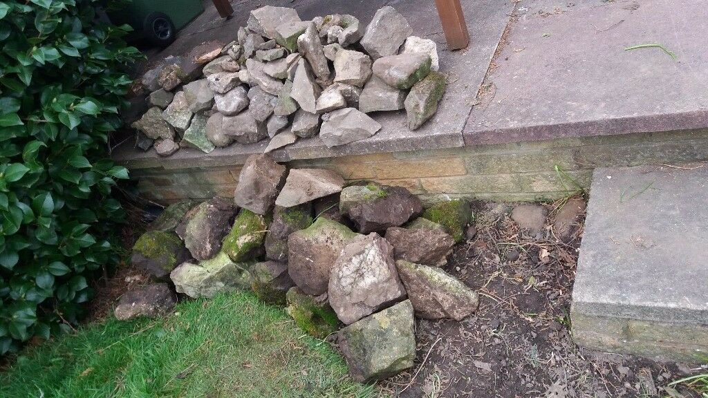 Free stones for garden all shapes and sizes