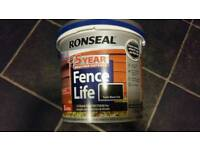 For sale new fence paint