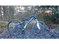"Intense 6.6 custom built enduro trail DH full suspension mountain bike large 19"""