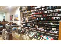 Vape Shop for Sale in Edgware Road W2, Great Location, Big Stock of MODs & Juices