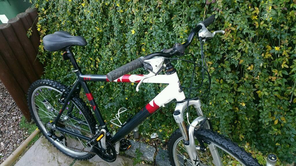 "Raleigh bike, 26"", aluminium frame."