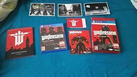 wolfenstein ps4 game ( playstation 4 )
