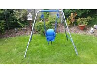 Toddler swing ,12 months+ ONLY 3 MONTHS OLD
