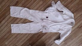 Judo suit as new