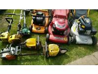 Joblot Petrol Lawnmower Mower, hede trimmer, strimmer Spares Repairs