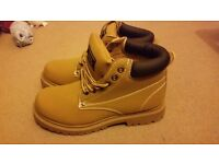 Mens Earth works boots size 6