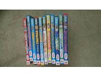 11 Thomas the tank and friends dvds