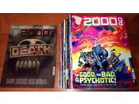 Every issue of 2000AD from 2015 (Progs 1912 to 1960 + Christmas Special)