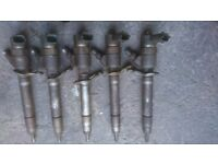 Volvo d5 desiel injectors x5 used working perfectly £100ono removed from s60