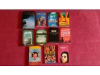 Bundle of books set around the world