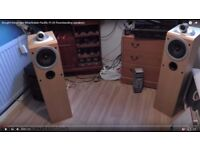 wharfedale pacific pi-20 Floorstanding stereo Speakers very good sound