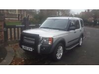 2005 LAND ROVER DISCOVERY 3 4.4 V8 HSE RARE SILVER LPG REAR ENTERTAINMENT FULLY LOADED £1500 SPENT