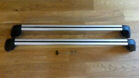 Genuine Vauxhall Insignia Roofbars, good condition + FREE boot liner