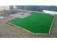 Brierleys Turfing and artificial grass supplied and installed.