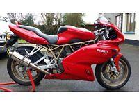 Ducati ss 750 ff