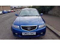 £1500 ONO 2003 Honda Accord Tourer Estate 2.0 i-VTEC Petrol Blue - SWAP possible