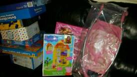 Toys for sale new sealed from 5 pound each less than half price